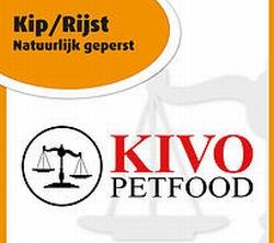 Kivo Kip&Rijst natuurlijk geperste brok  15 Kg